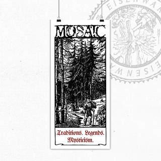 MOSAIC - Woodcutter, Art Print