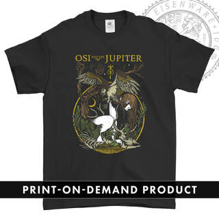 OSI AND THE JUPITER - Folk of the Woods, T-Shirt (On Demand)