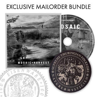 MOSAIC - Harvest, Slipcase CD + Patch bundle