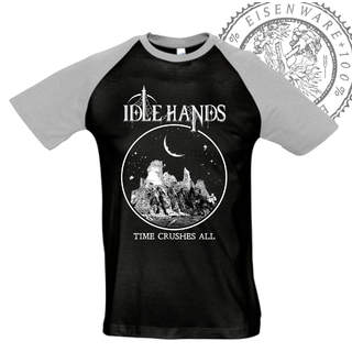 IDLE HANDS - Time Crushes All, Baseball-Tee