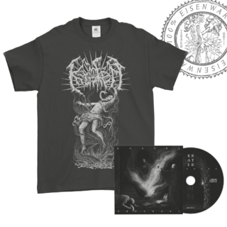 KRATER - Venenare, DigiCD+T-Shirt bundle