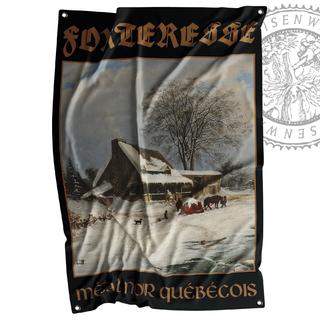 FORTERESSE - Métal noir québécois, Flag