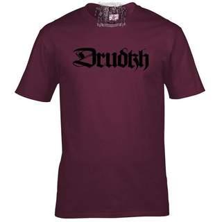 DRUDKH - Logo, T-Shirt (burgund)