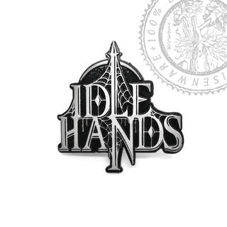 IDLE HANDS - Logo, Metal Pin