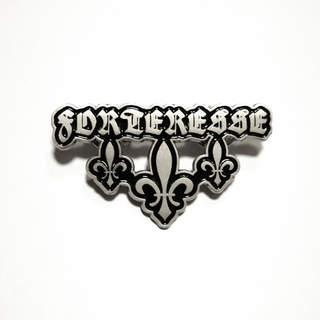 FORTERESSE - Logo, Metal Pin