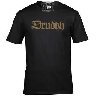 DRUDKH - Logo, T-Shirt (schwarz)