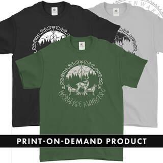 OSI AND THE JUPITER -  Nordlige Rúnaskog, T-Shirt (On Demand)