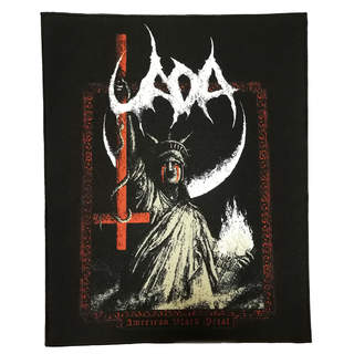 UADA - American Black Metal, Backpatch